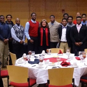 Margaret Ann and the APSU Athletics Dinner Group